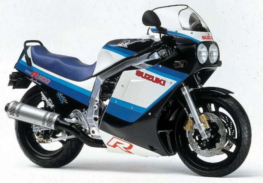 Suzuki GSXR1100 86