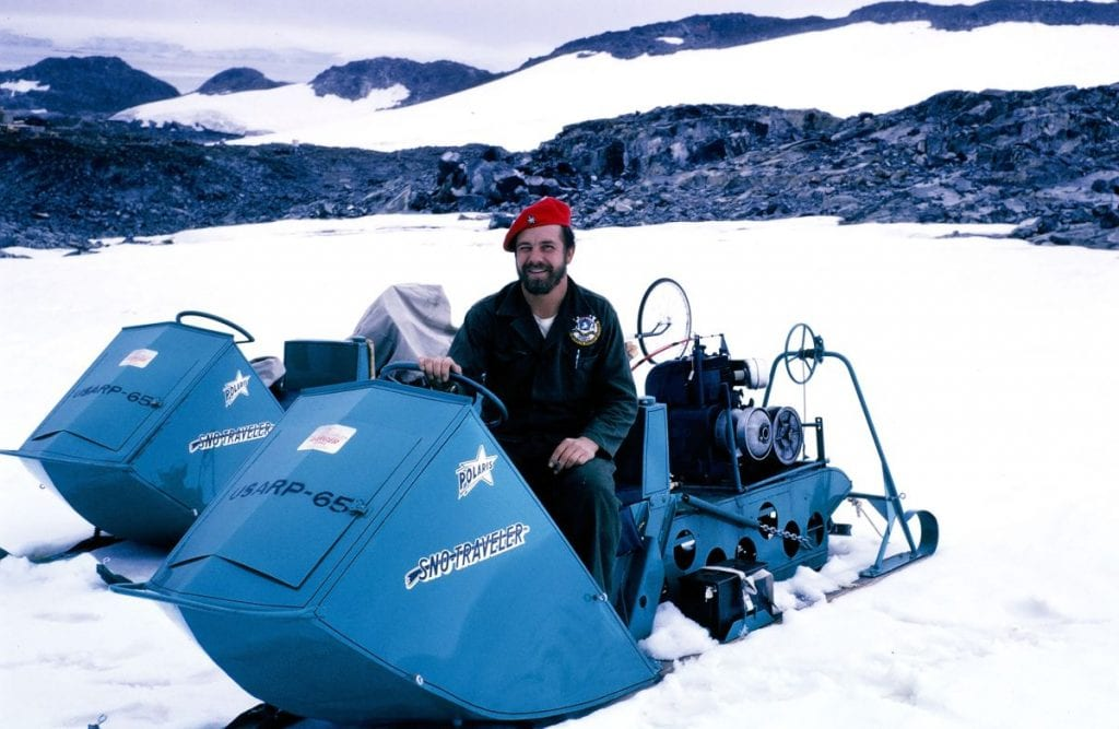 פולריס אופנוע שלג היסטוריה