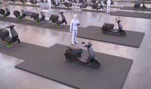 המפעל של אולה ייצר קטנוע חדש כל של