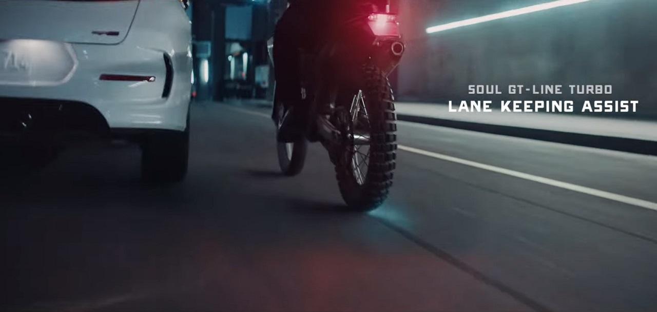 הפרסומת של קיה מסיתה נגד אופנוענים