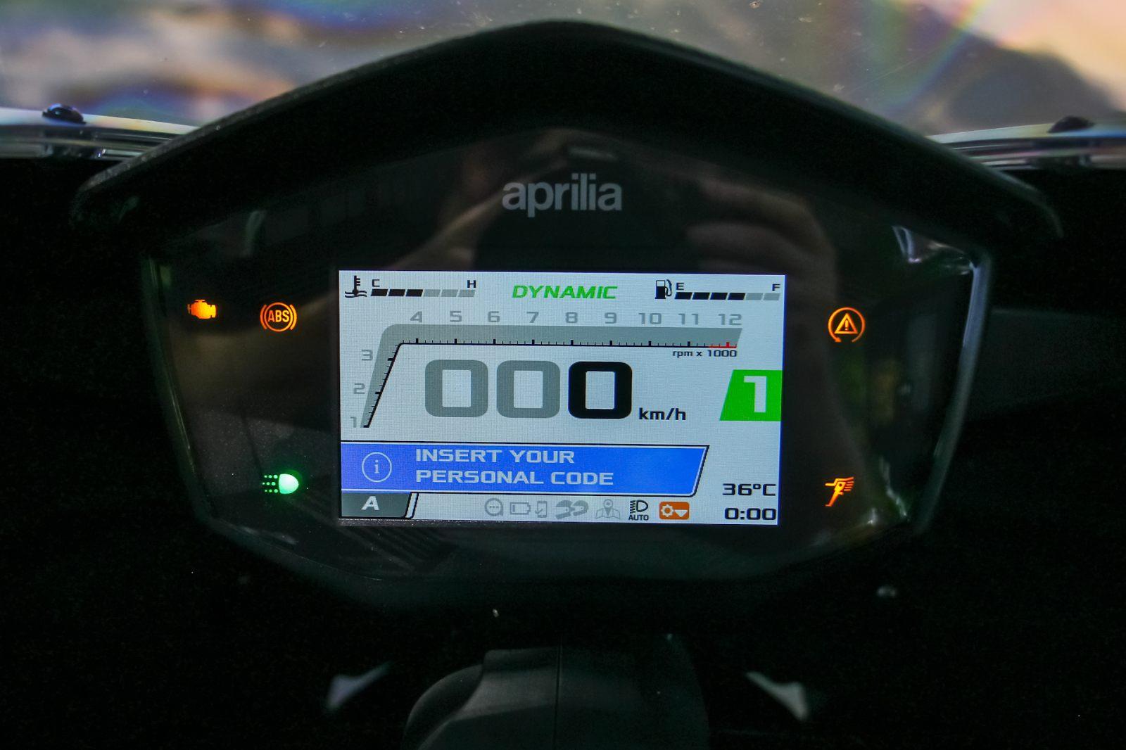 אפריליה RS660 במבחן