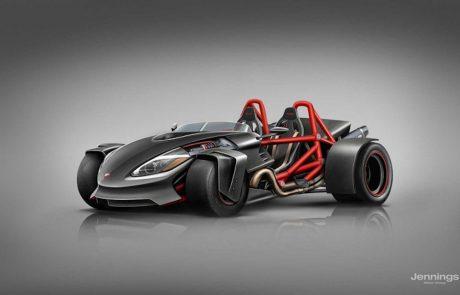 תרגיל בעיצוב: מה היה קורה אם יצרניות האופנועים היו מעצבות מכוניות?