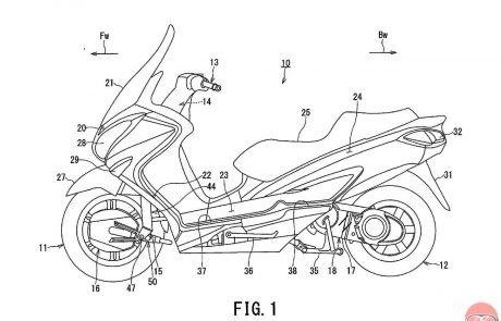 האם סוזוקי מפתחת קטנוע היברידי כפול הנעה?