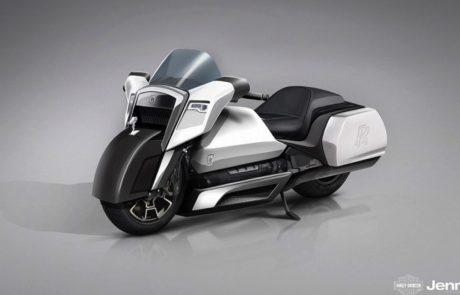 מה היה קורה אם מקלארן, רולס רויס ופורשה היו מעצבות אופנוע