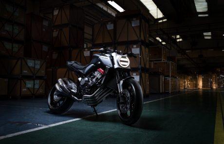 אופנוע הקונספט החדש של הונדה נחשף בפריז
