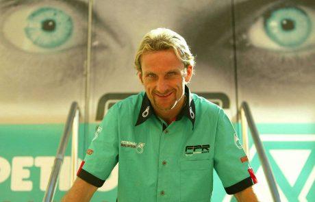 קארל פוגרטי נפצע במרוץ פלאט טרק