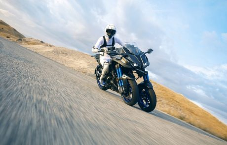 ימאהה מרימה את הכפפה: מציגה אופנוע תלת גלגלי