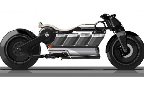 קרטיס הכריזה על אופנוע חשמלי חדש