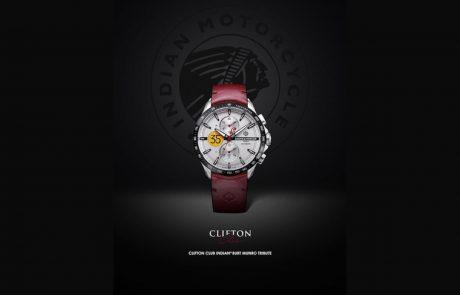 אינדיאן מציגה: שעון במהדורה מיוחדת כמחווה לברט מונרו