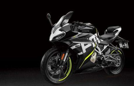 CF מוטו מציגה אופנוע ספורטיבי לצעירים