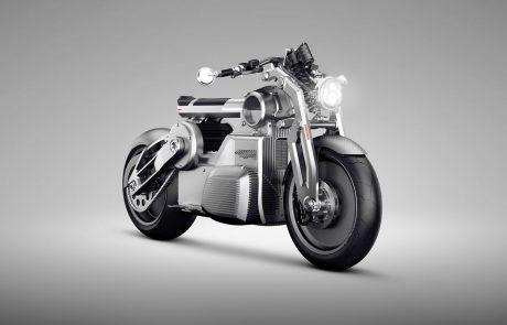מכת חשמל: קרטיס חושפת את האופנוע החשמלי הראשון שלה