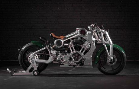 קונפידרט מציגה את האופנוע המודרני הראשון של קרטיס