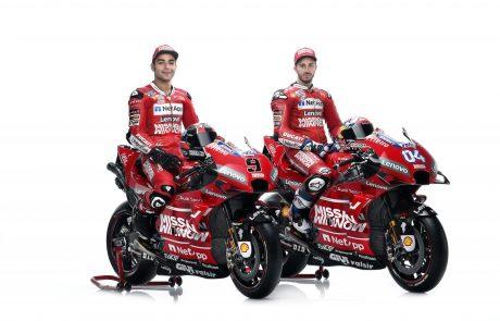 דוקאטי חושפת את קבוצת ה-MotoGP לעונת 2019