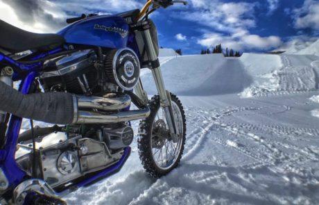 חדש ב-X Games: טיפוס שלג על הארלי