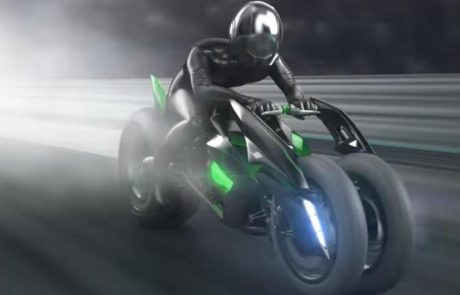 עתיד ירוק: קאוואסאקי מפתחת אופנוע חשמלי