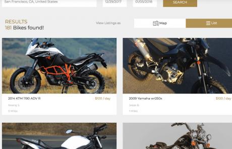 כלכלת השיתוף מגיעה לעולם האופנועים