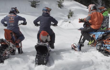 קפיצה לקור: סדרת רשת מציגה את עולם אופנועי השלג