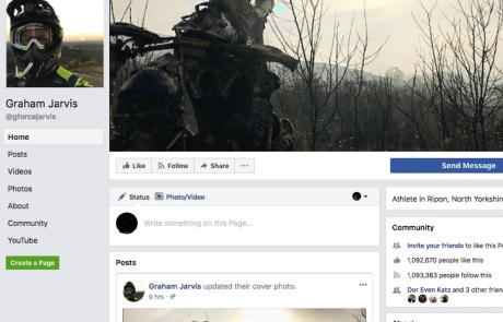 רשת של רוכבים: עמודי הפייסבוק המומלצים