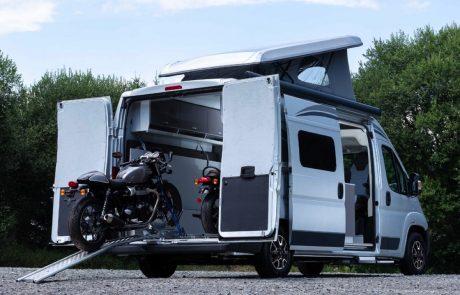 לידיעת המטיילים: סיטרואן חשפה קראוון ממונע עם מקום לשני אופנועים