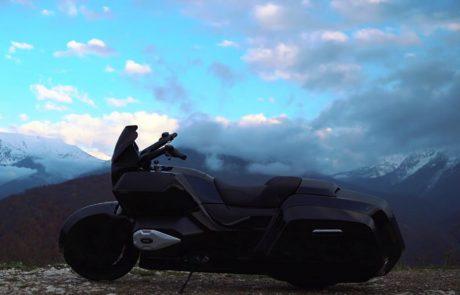 קלצ'ניקוב מפתחת את אופנוע הליווי של פוטין