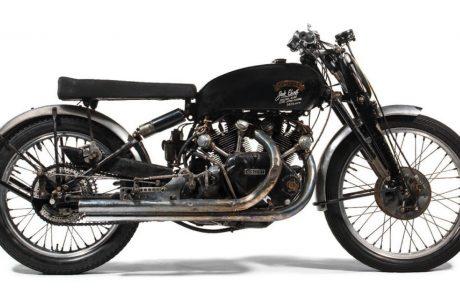 שיא עולמי: אופנוע וינסנט נמכר בכמיליון דולר
