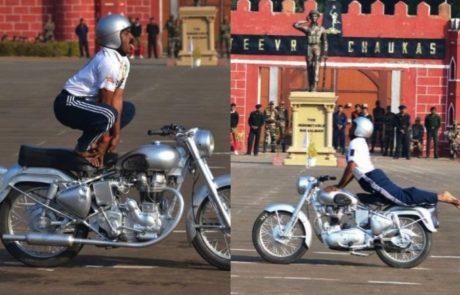יוגה ומנוע של טנק: שיאי האופנועים הביזאריים